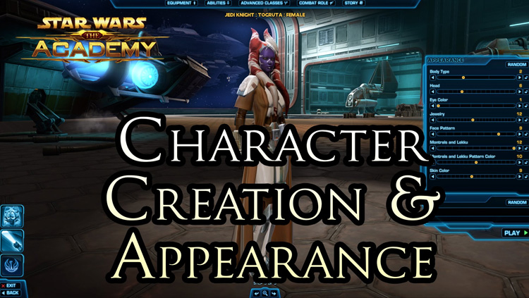 Swtor Character Appearance Guide