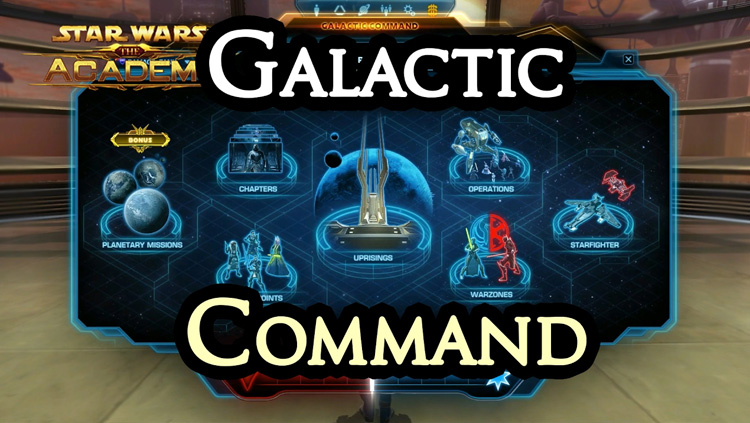 SWTOR Galactic Command Guide - Swtorista