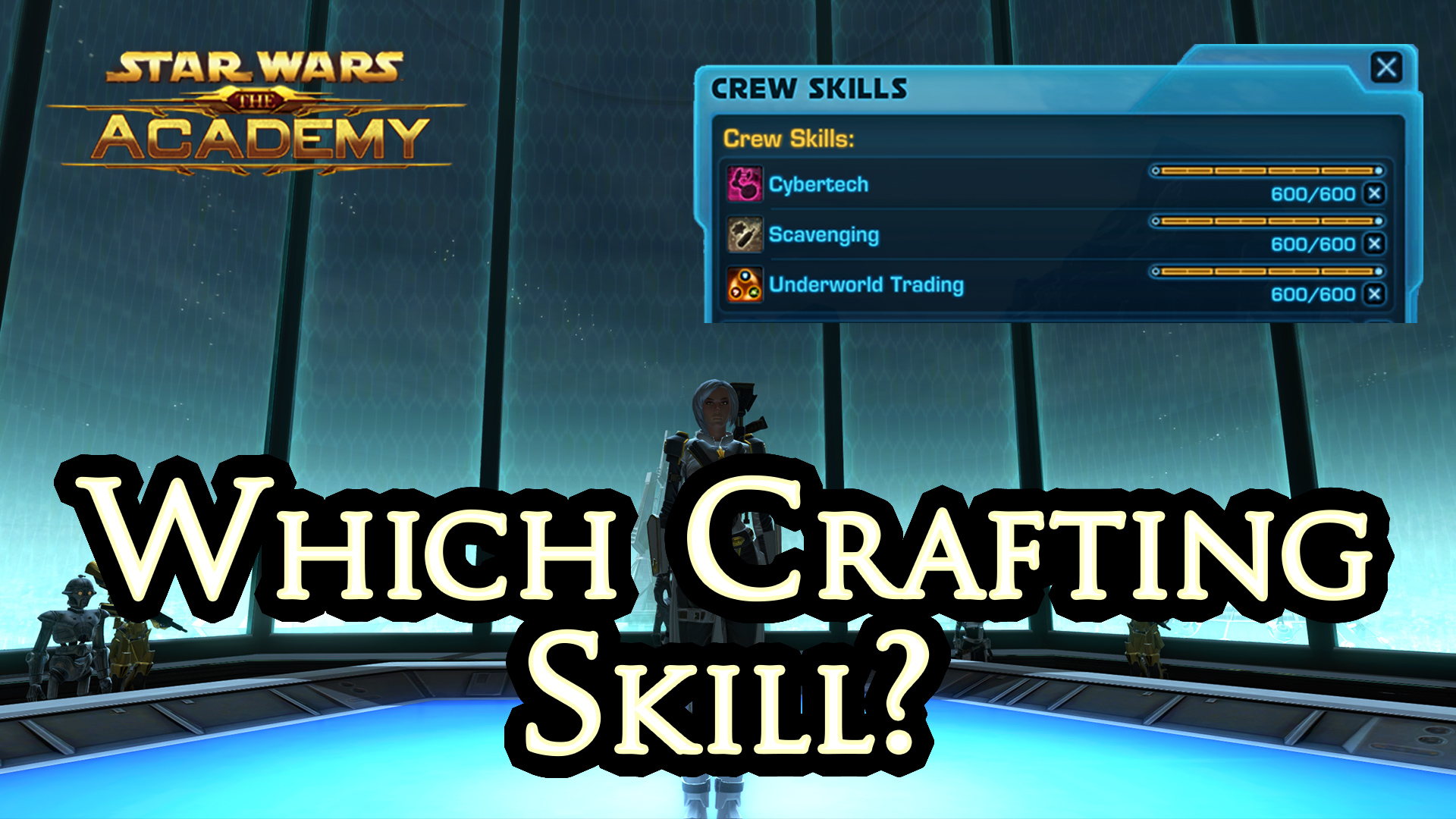 Which crafting skill should i choose in swtor for What craft should i do