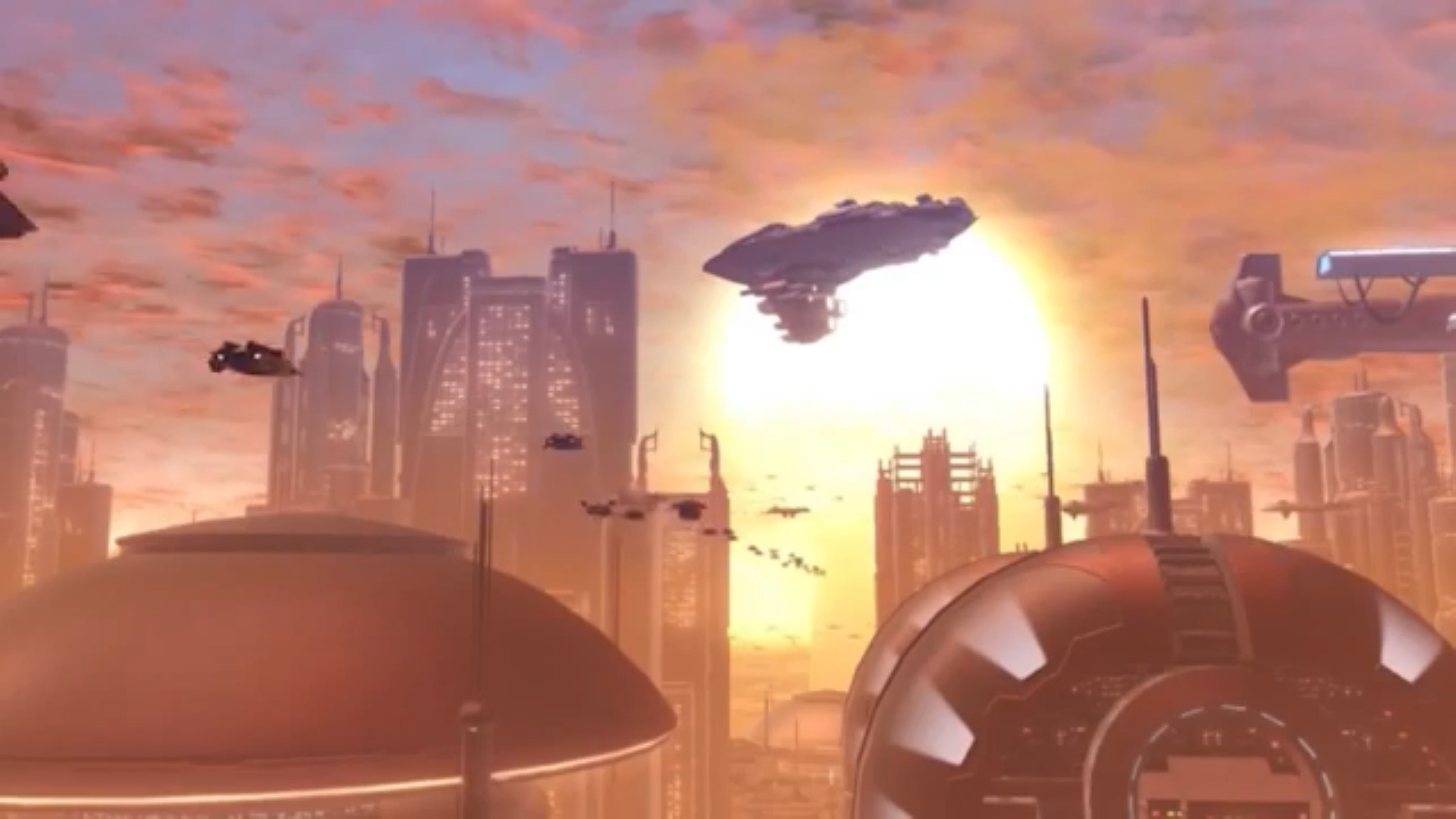 Coruscant Stronghold