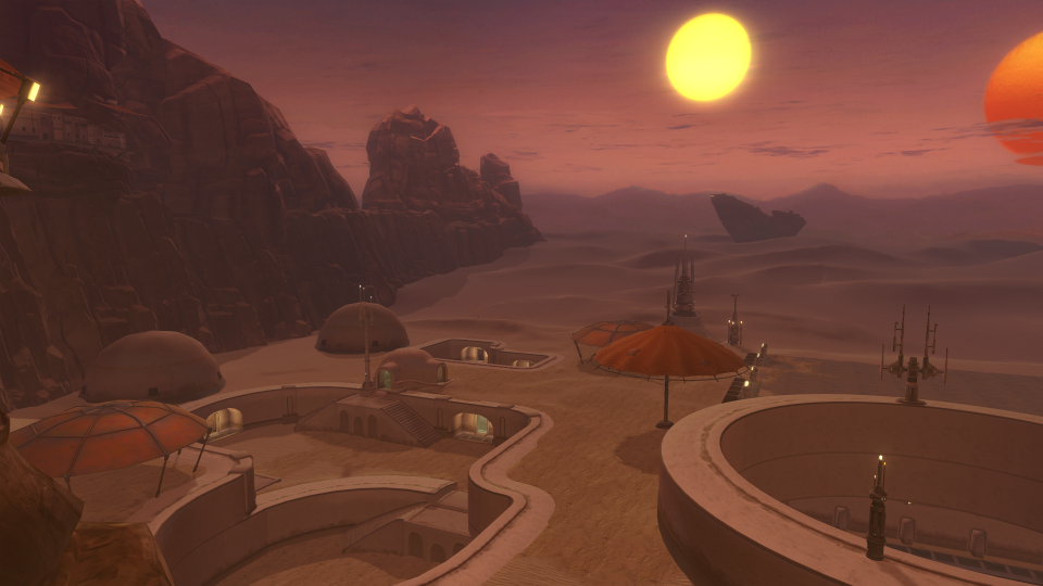 Detailed Screenshots Of The Tatooine Homestead Via Swtor