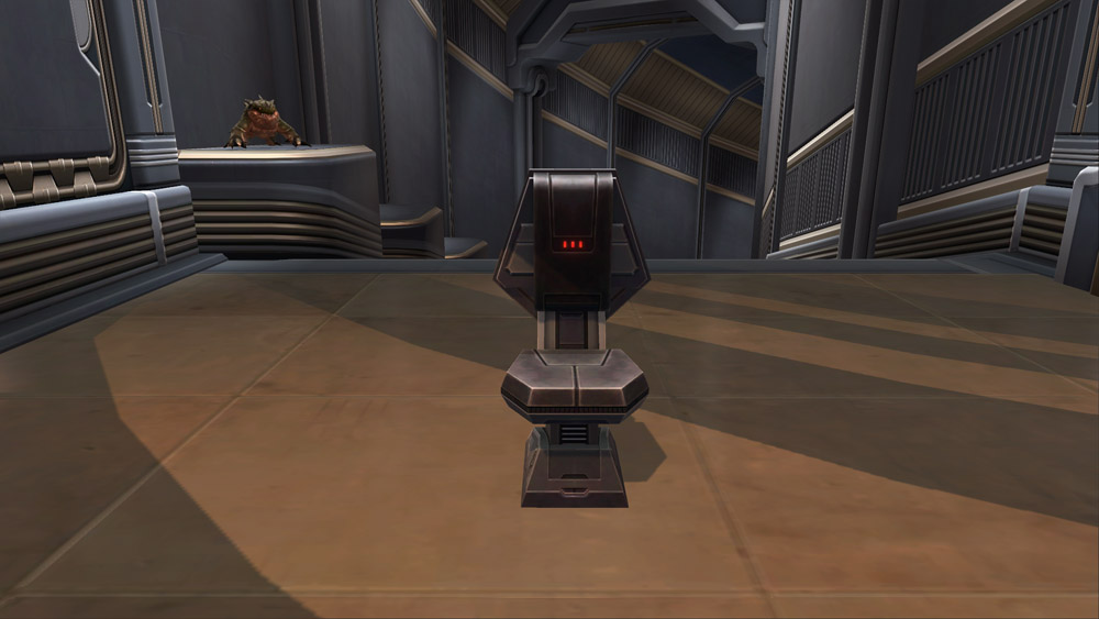 SWTOR Basic Imperial Chair