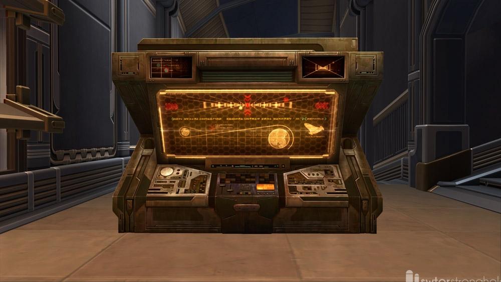 SWTOR Computer Station (Starship)
