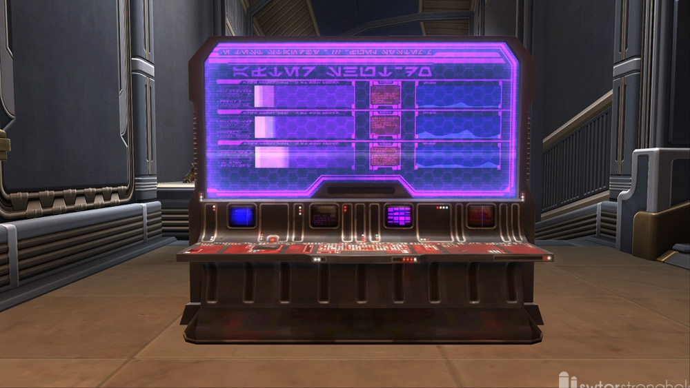 SWTOR Diagnostic Console (Power)