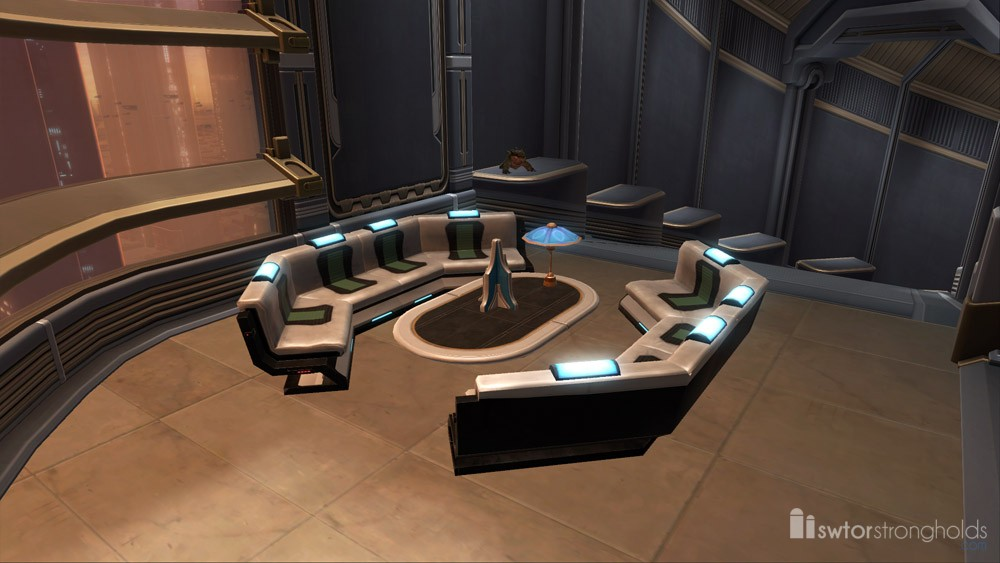Arrangement: Executive's Lounge