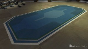 Corporate Lobby Rug decoration