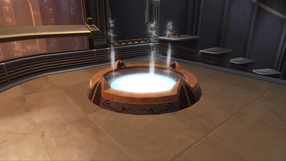 SWTOR Fountain: Jedi Temple