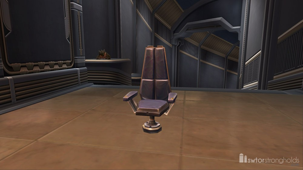 SWTOR High Back Padded Chair