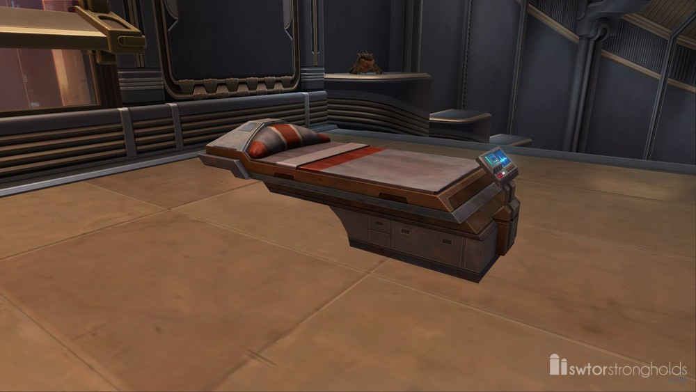 SWTOR Hospital Bed