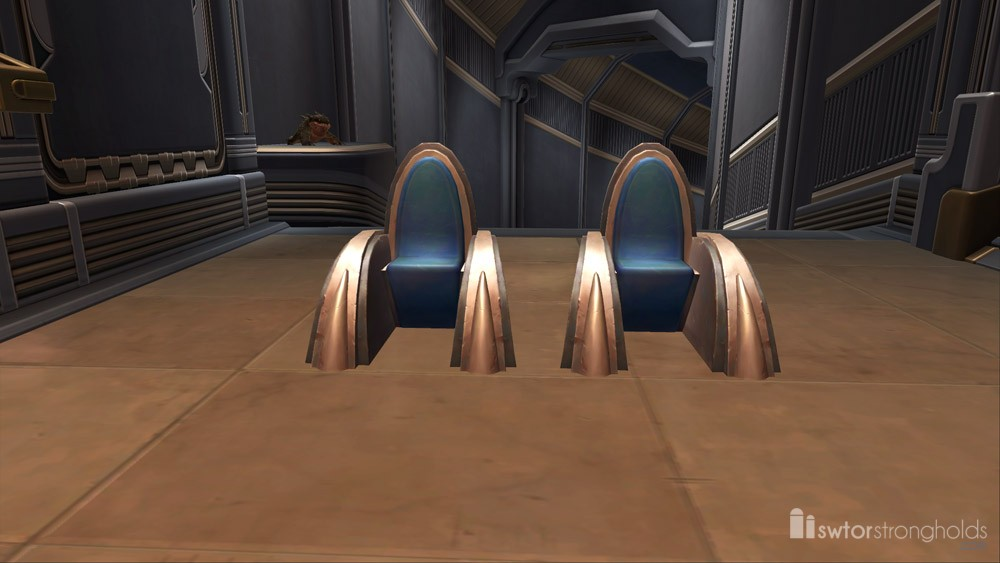 Jedi Temple Chairs