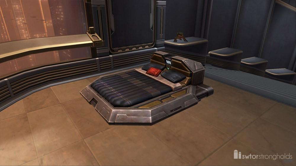 Luxury Bed (Black)