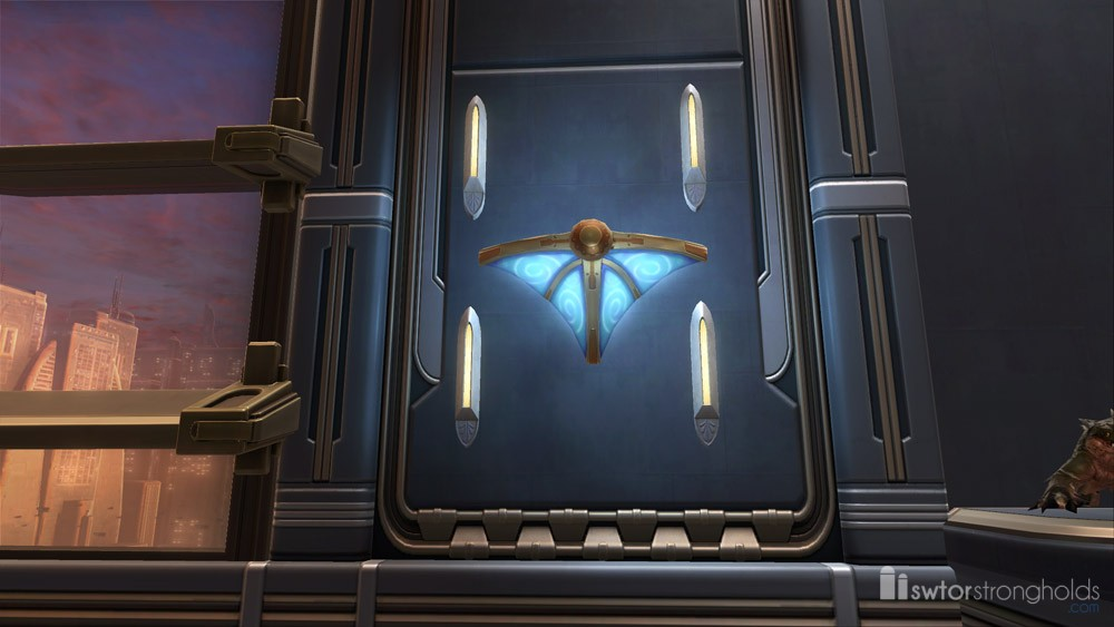 SWTOR Luxury Wall Sconce