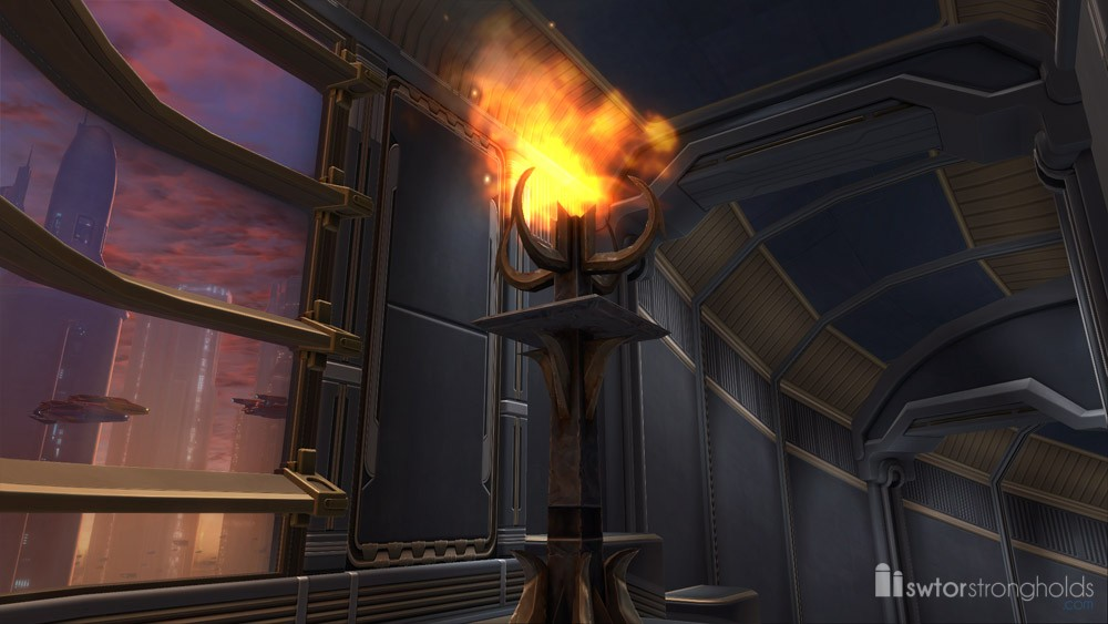 SWTOR Oriconian Standing Torch