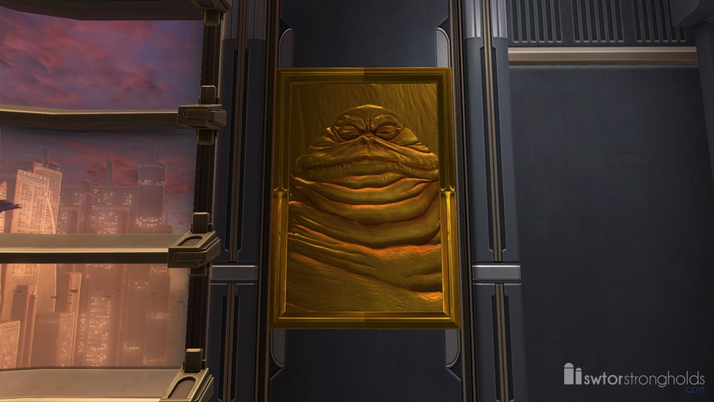 SWTOR Portrait: Gold Plated Hutt