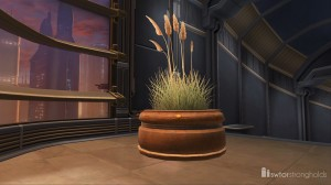 Potted Plant Sea Grass decoration