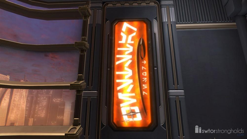 Sign: Resort (Orange)