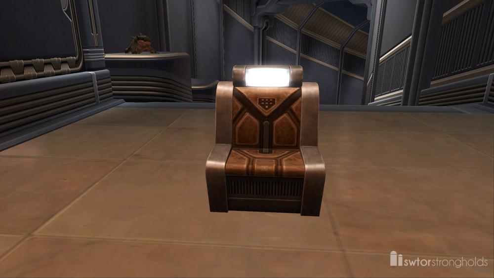 SWTOR Starship Chair (Tan)
