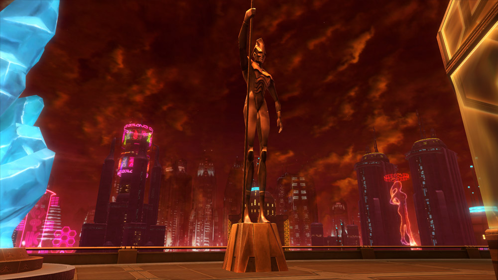 SWTOR Statue of the Spearman