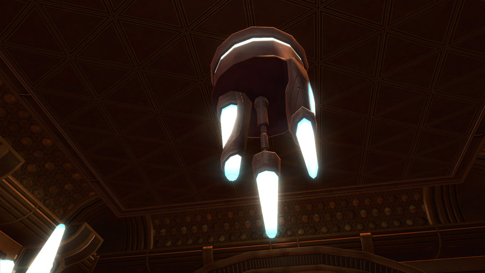 SWTOR Temple Chandelier