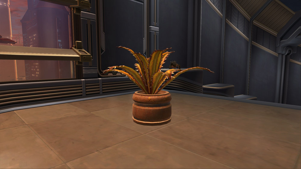SWTOR Planter: Blood Razor Fern