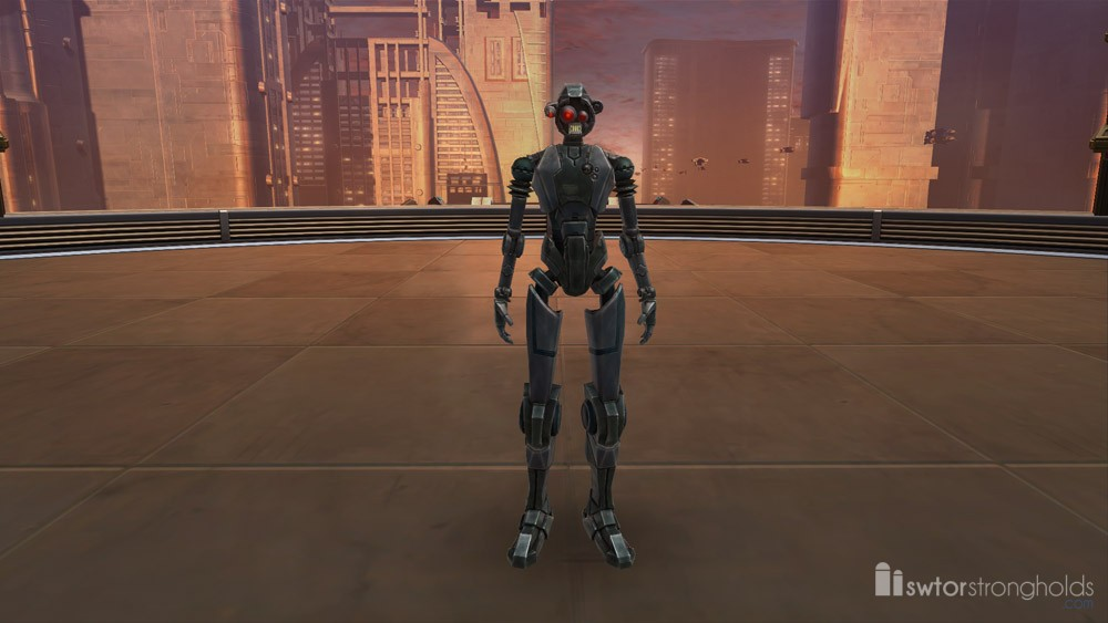 Medical Droid (Imperial) Decoration | SWTOR Strongholds