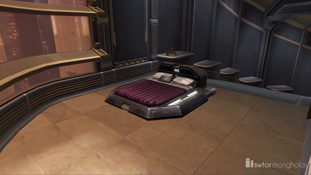 Luxury Bed Plum Decoration Swtor Strongholds