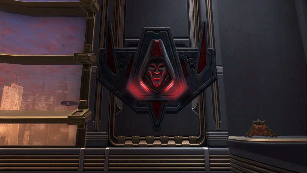 SWTOR Sith Mantlepiece