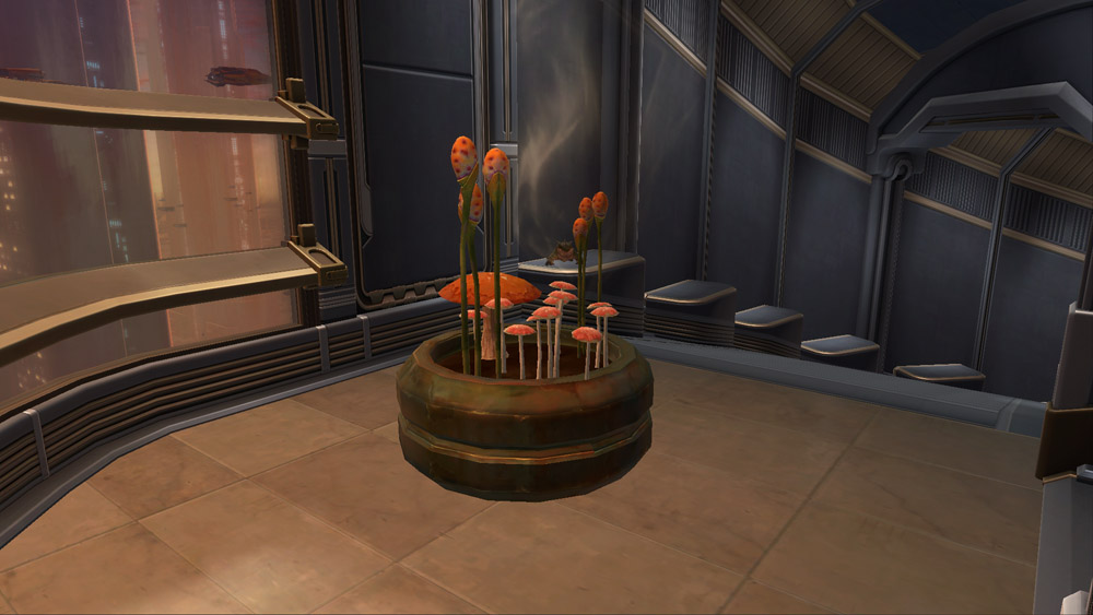SWTOR Potted Plant: Yavin Fungus