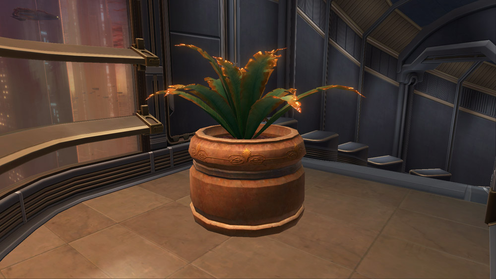 SWTOR Potted Plant: Yavin Cave Fern