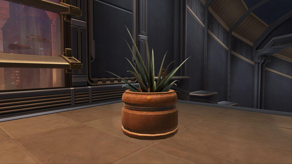 SWTOR Potted Plant: Yavin Octogave Plant