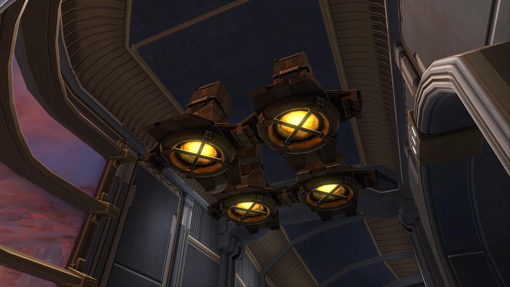 SWTOR Rishi Ceiling Light