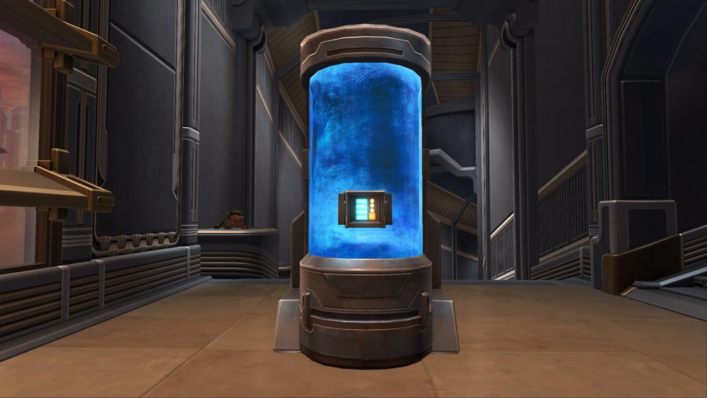 Cryogenics Tank Decoration Swtor Strongholds