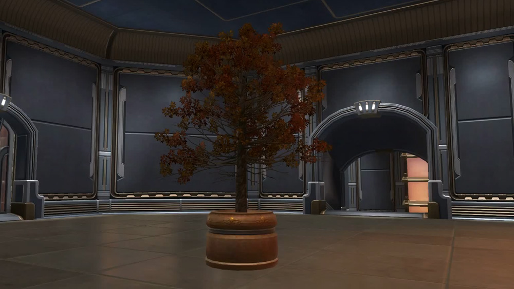 SWTOR Potted Tree: Autumn