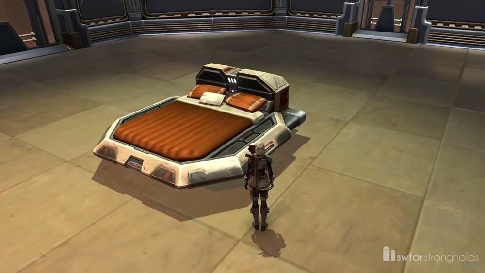 SWTOR Luxury Bed (Orange)