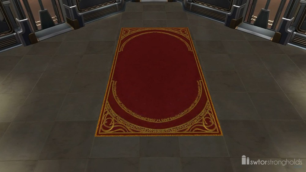 Senator\'s Rug Decoration | SWTOR Strongholds