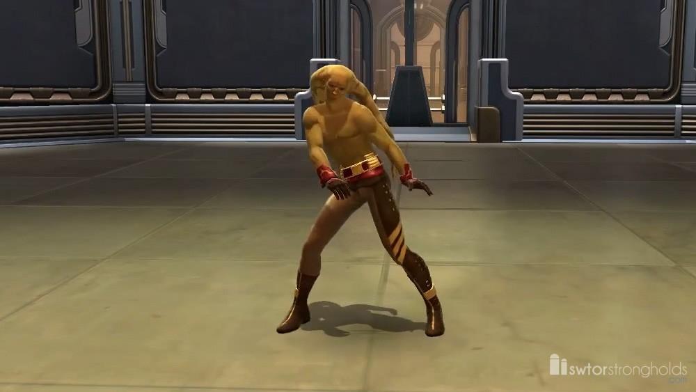 SWTOR Twi'lek Dancer (Male)