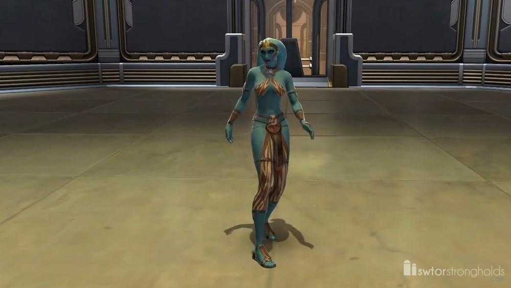 Twi\'lek Dancer (Female) Decoration | SWTOR Strongholds