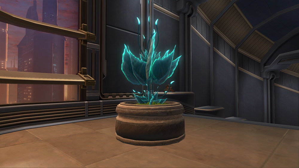 SWTOR Planter: Glowing Cave Fern