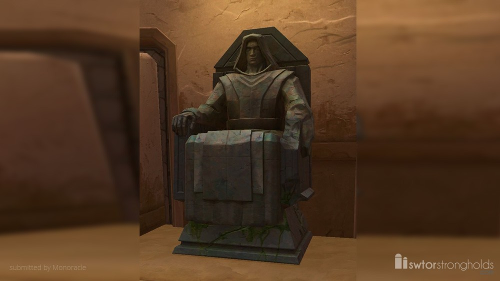 SWTOR Statue of the Throned Sith