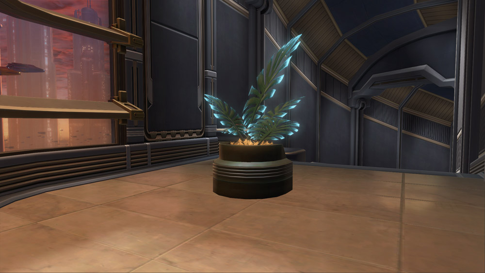SWTOR Potted Plant: Manaan Fern