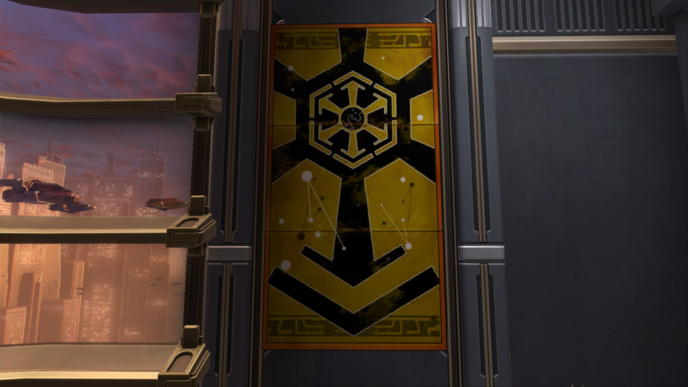 SWTOR Imperial Voss Embassy Sign