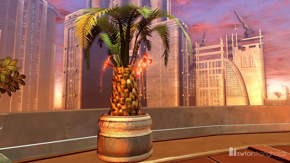 SWTOR Potted Tree: Rakata Palm