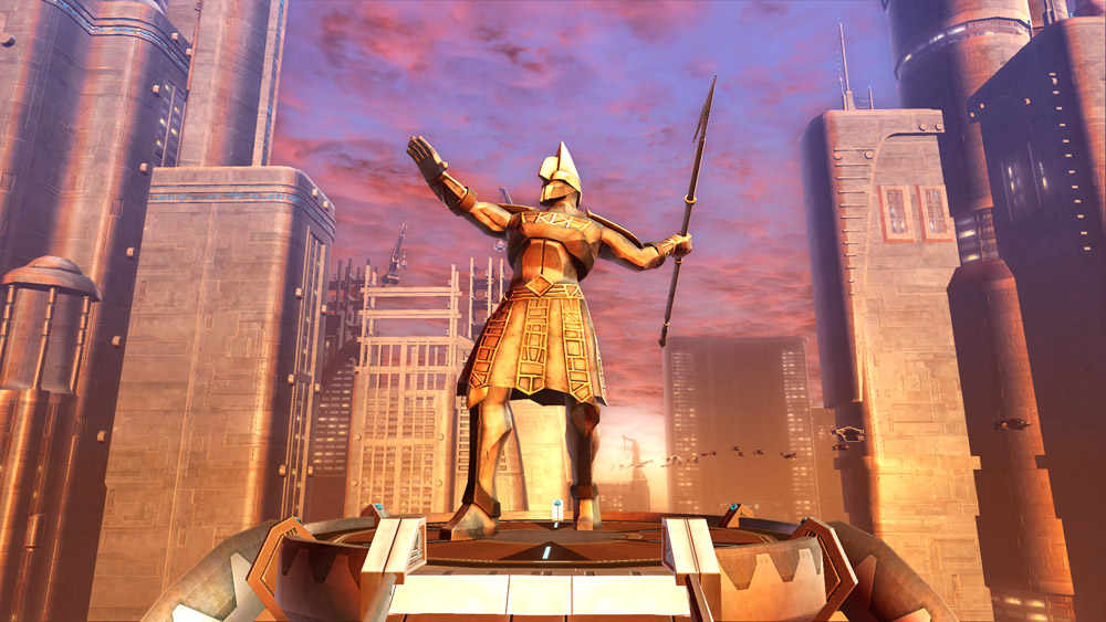 SWTOR Yavin Warrior with Spear