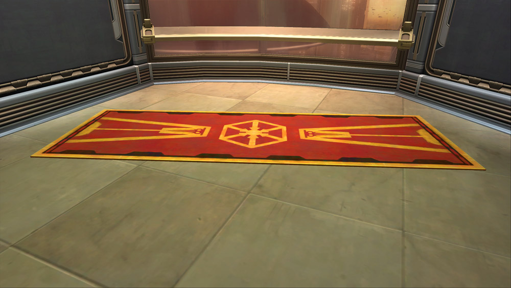 SWTOR Imperial Dignitary's Rug