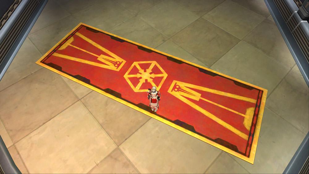 Imperial rug