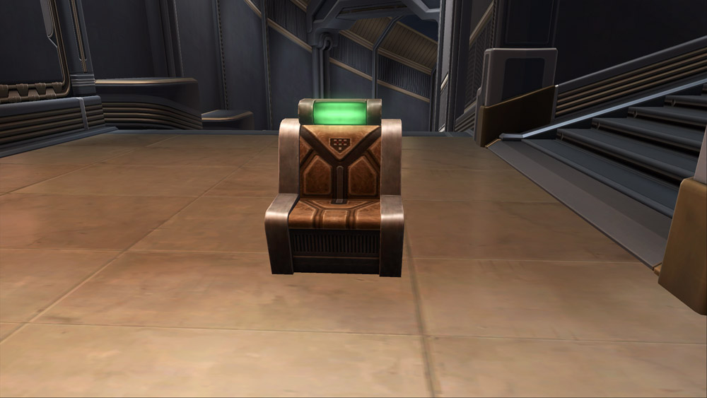 Underworld Starship Chair