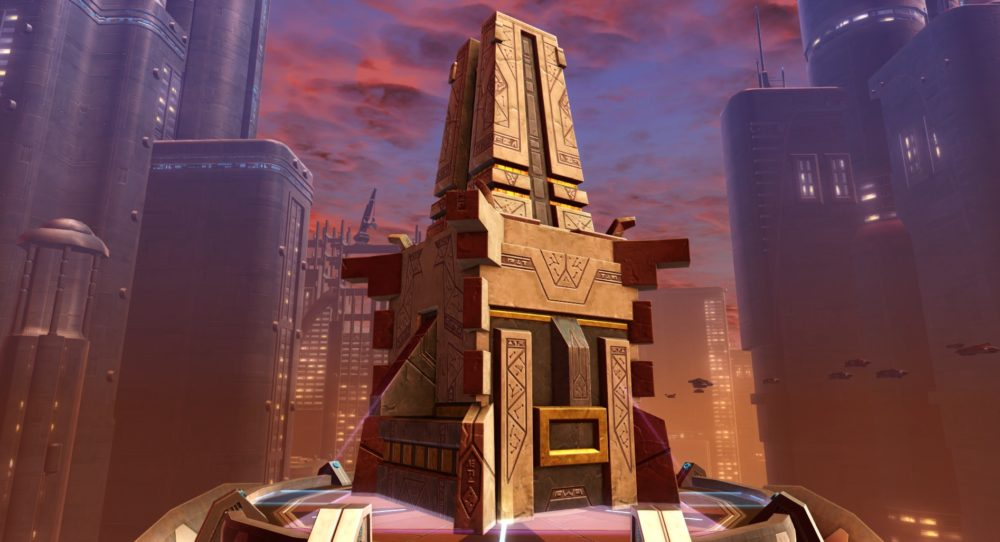 SWTOR Voss Shrine Sculpture