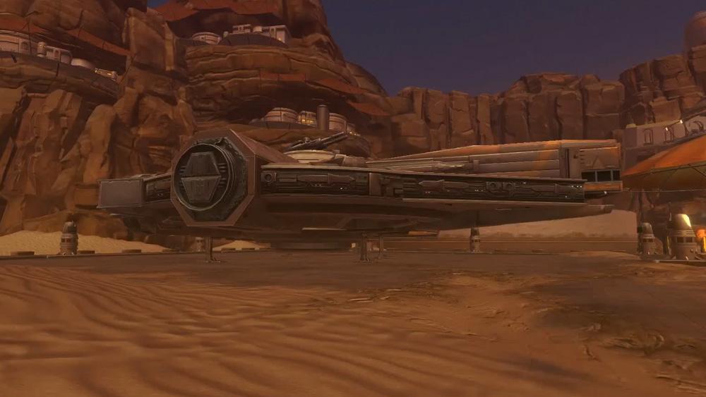 Tatooine Decorations