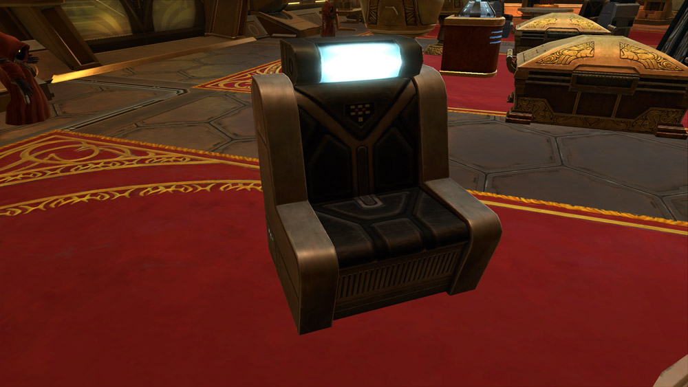 Starship Chair (Black)