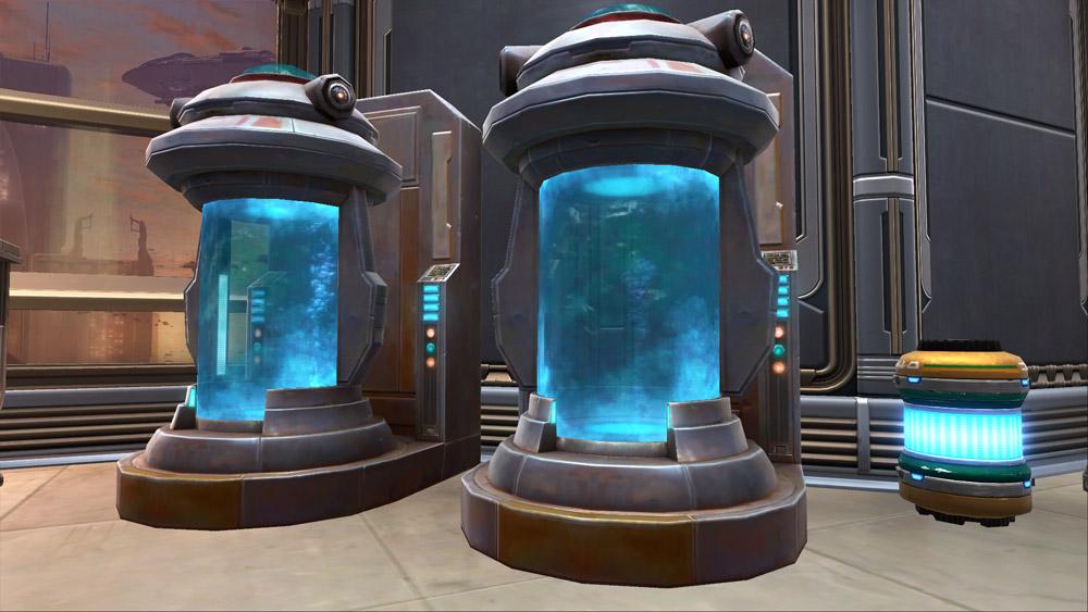 SWTOR Starship Medical Tank
